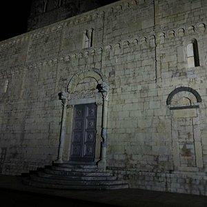Duomo at night.