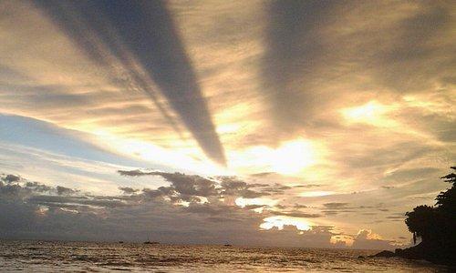 Sunset in Pelabuhan Ratu