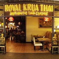 Entrance to Royal Krua Thai SM mall