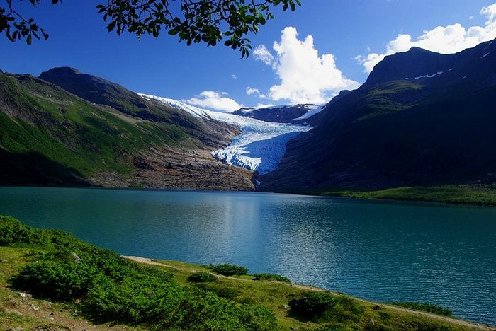Svartisen - Norway's second largest glacier.