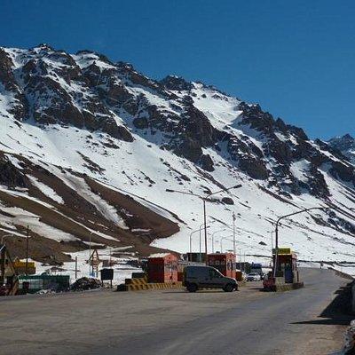 Viaducto límite con Chile