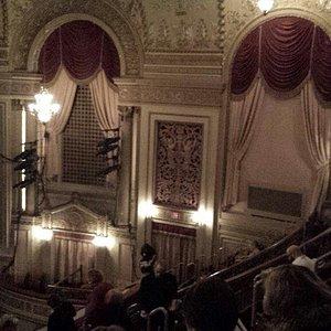 Beautiful old theater.