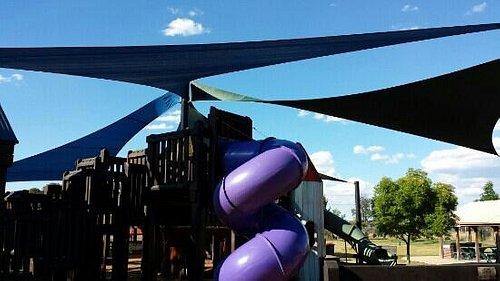 Orange Adventure Playground - great for kids