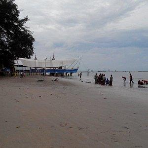 Pasir padi beach in thw morning