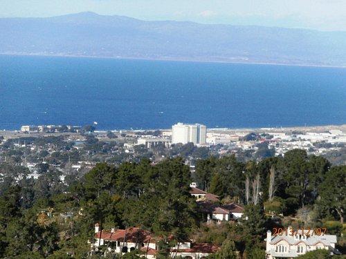 Monterey Bay from Jacks Peak Park