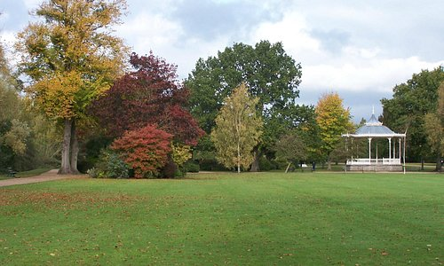 Vivary Park in Autumn