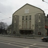 Estonian Drama Theatre is art deco style and built 1910