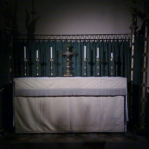 The High Altar at the Cathedral of the Isles