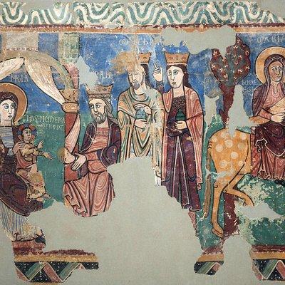 Pintura románica Navasa