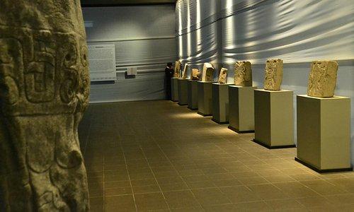 Foto tomada en el interior del Museo el 2011.