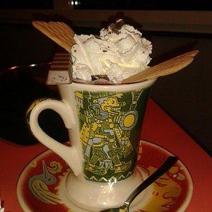 Cioccolata in tazza...che si mangia anche con gli occhi!