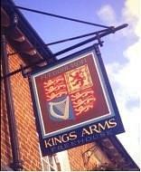 Our pub sign