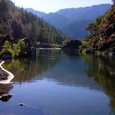 Trinity River near Burnt Ranch