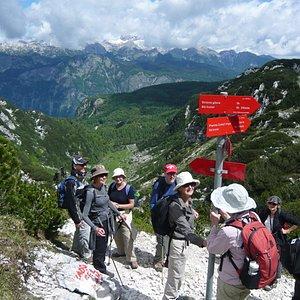 Hiking in Slovenia and Friuli