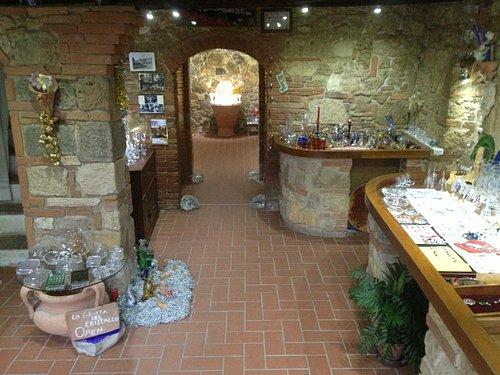 La Grotta del Cristallo. Showroom