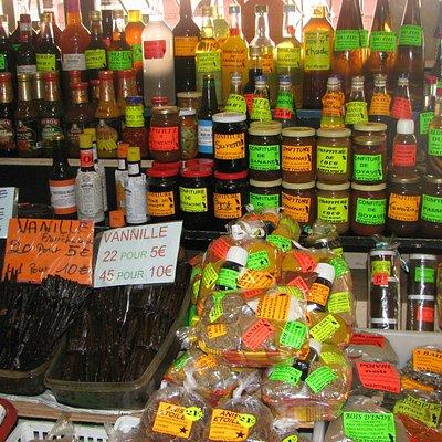 le marché et ses spécialités