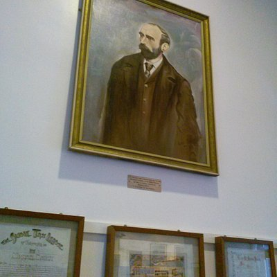 painting of Michael Davitt