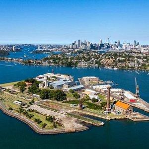 Cockatoo Island, Sydney Harbour