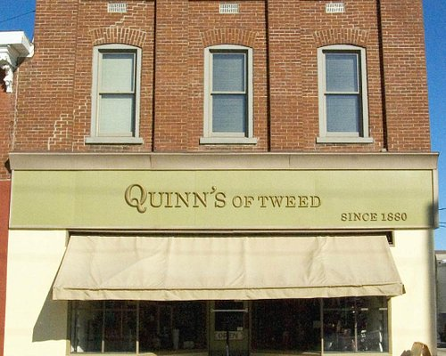 Quinn's Of Tweed Fine Art Gallery Store Front circa 1880