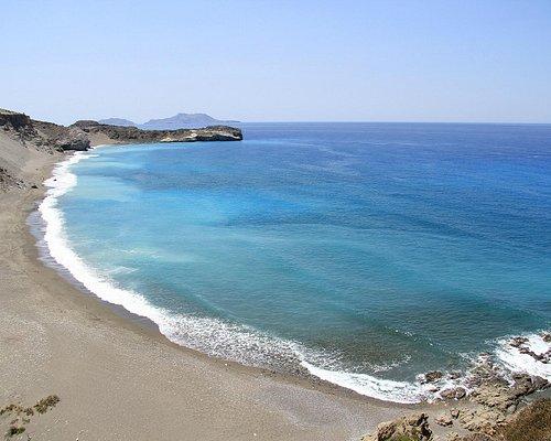 Ливийское море. Пляжи Крита поражают своей красотой, чистотой и отсутствием людей.