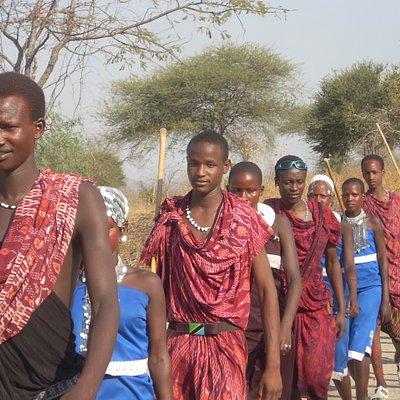 Maasai Boma Tour
