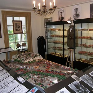 Vince Family Collection on display on the second floor of Connell House includes 1000 toy soldie