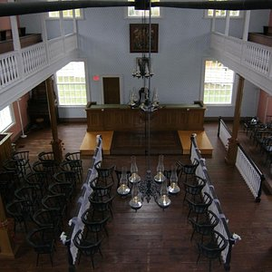 Weddings are also held at the 1833 Court House. Call 506-328-9706 for more information.