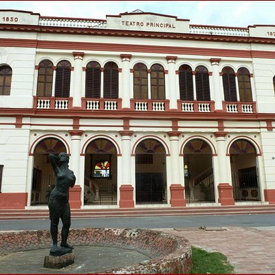 Teatro Principal -1850. You could see the Camagüey Ballet here, but I did not.