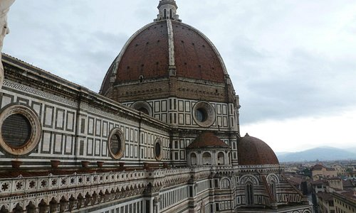 the dome (taken from Giotto's bell tower)