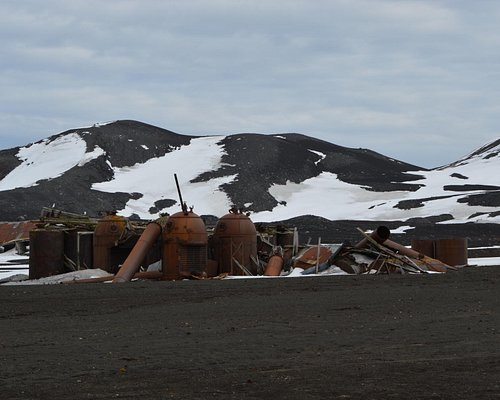 remains of former whaling station