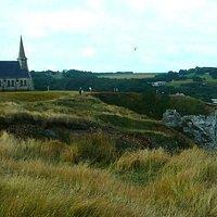 Chapelle Notre dame de la Garde: Etretat: Francia: panoramica