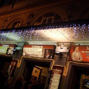teatro sala umberto - ingresso