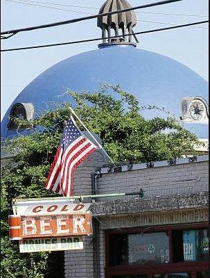 Arnie's and the Blue Dome