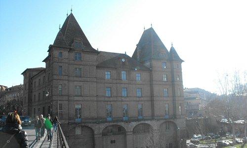 Вид на музей с моста