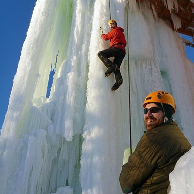 Climbing the Ice Towers