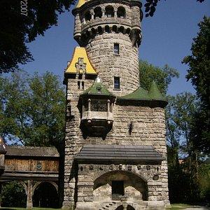 Mutterturm Entrance