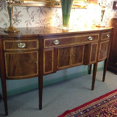 This beautiful banded sideboard  came from there. best price best quality they were voted best a