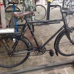 Bicicleta de 1942, usada na guerra pelo exército belga.