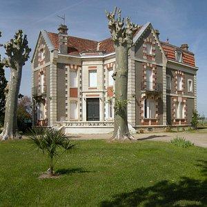 Vue Sud Manoir XIXème
