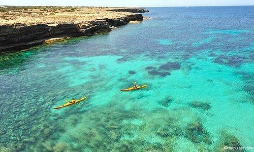 Excursiones kayak Formentera