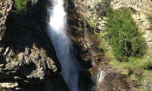 Una delle tante cascate