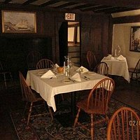 One of several dining rooms.