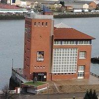 Vista del edifico que alberga este museo.