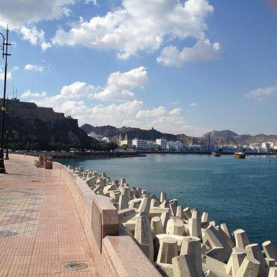 beach front Muscat