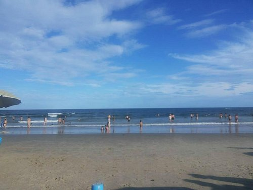 Linda a Praia Brava.