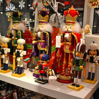 Impressive bunch of nutcrackers
