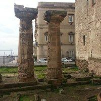 Colonne doriche del tempio di Poseidone