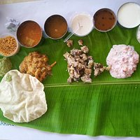 A Thali at noon