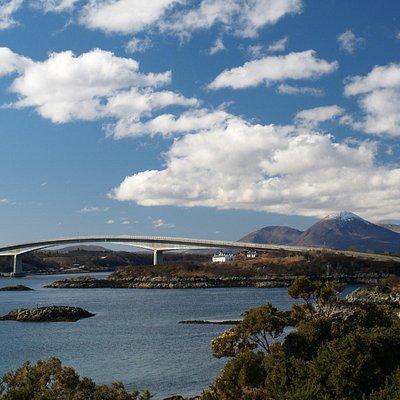 The Isle of Skye Bridge.