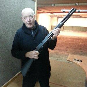 Bros in Law with Winchester pump shotgun